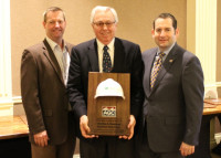 AGC's William Gaetano of Charles A. Gaetano Construction Accepts AGC of America's Safety Excellence Award 2018 image