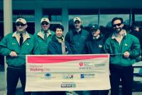 Gaetano Employees Participate in 2014 National Walking Day image