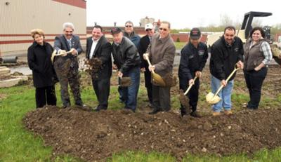 American Alloy Steel Addition Ground Breaking image