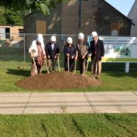 Groundbreaking for the Community Foundation of Oneida & Herkimer Counties image