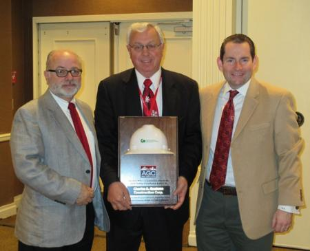 Gaetano Construction Presented with AGC NY Safety Award image
