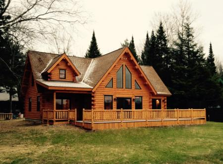 Jean Burke Residence-Custom Log Home