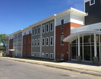 West Street Apartments - Front View from Main Entrance