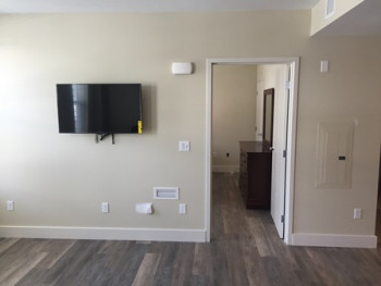 West Street Apartments - Living Room/Bedroom Entrance
