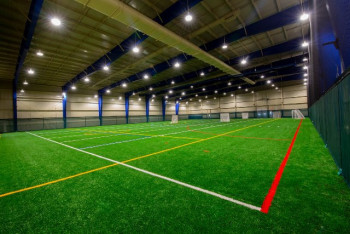 Hamilton College Practice Facility Addition - Interior Field