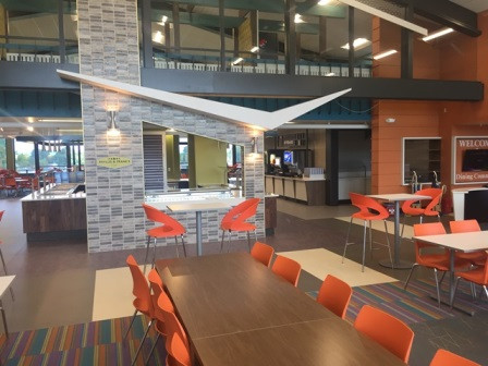 Utica College - Strebel Hall Student Dining Commons Renovation
