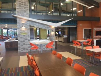 Utica College - Strebel Hall Student Dinning Commons Renovation