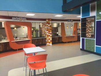 Utica College - Strebel Hall Pizza Area