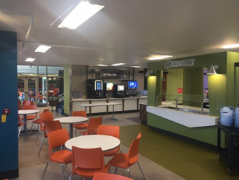 Utica College - Strebel Hall Salad Bar