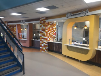 Utica College - Strebel Hall Sandwich Area